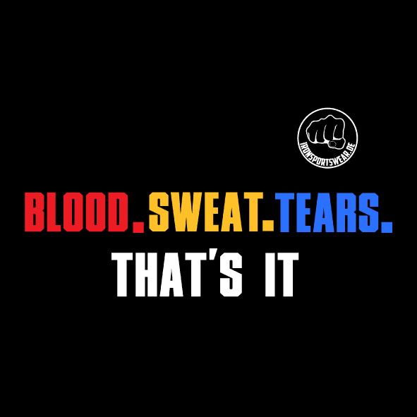 blood sweat tears
