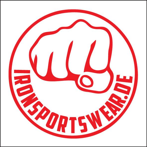 Logo Ironsportswear rot
