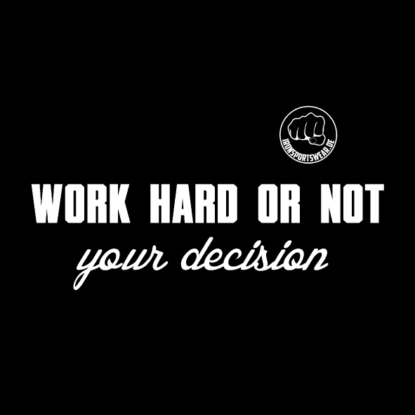work hard or not